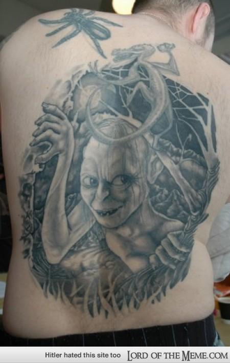Tatuagens do filme O Senhor dos Aneis 30