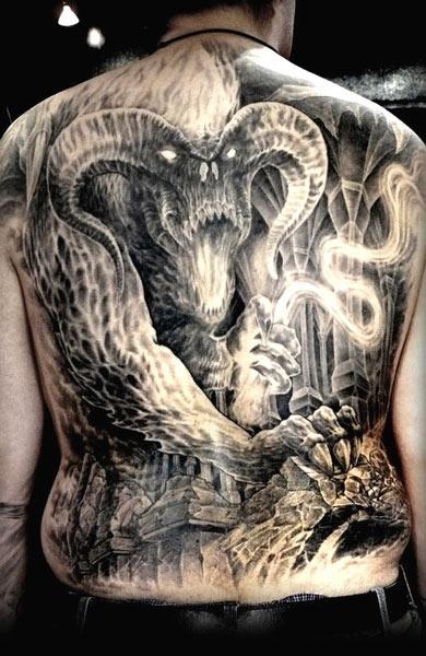Tatuagens do filme O Senhor dos Aneis 31