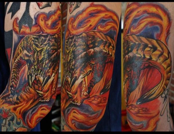 Tatuagens do filme O Senhor dos Aneis 33