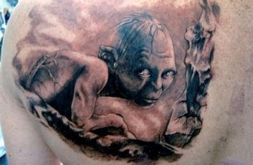 Tatuagens do filme O Senhor dos Aneis 34