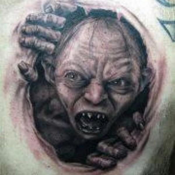 Tatuagens do filme O Senhor dos Aneis 35