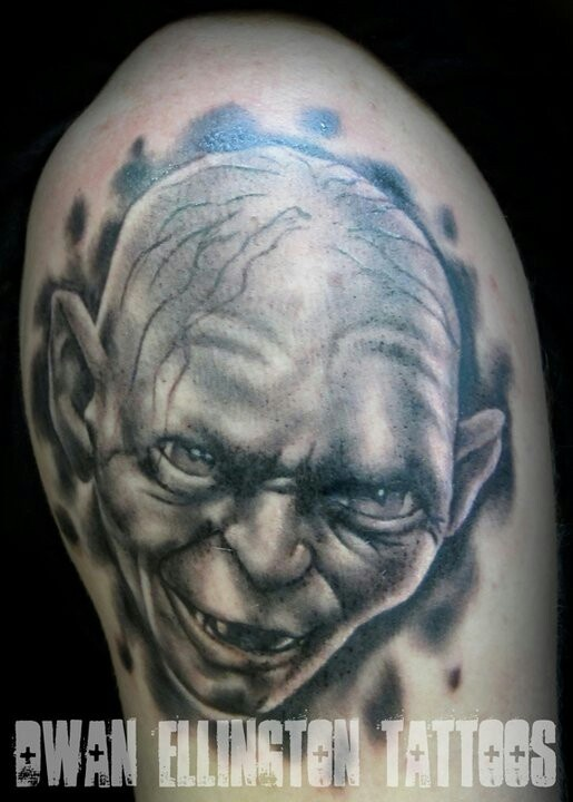Tatuagens do filme O Senhor dos Aneis 36