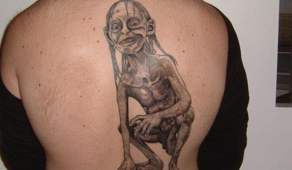 Tatuagens do filme O Senhor dos Aneis 37