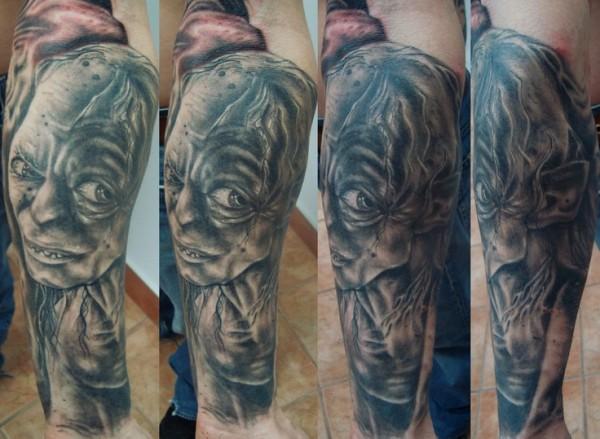 Tatuagens do filme O Senhor dos Aneis 38