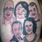 30 Tatuagens para os amiguinhos rirem