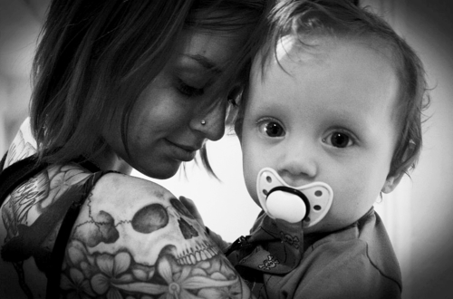 Pais e maes tatuados - Tattooed Parents 01