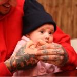 Lindas fotos mostrando o amor de pais tatuados pelos seus filhos