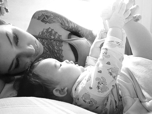 Pais e maes tatuados - Tattooed Parents 29