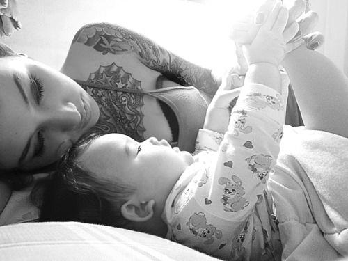 Pais e maes tatuados - Tattooed Parents 29