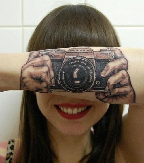 Tatuagens criativas nos braços 03