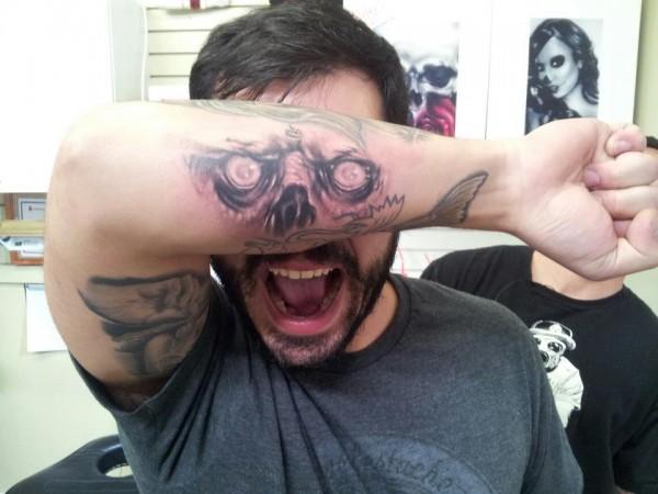 Tatuagens criativas nos braços 06