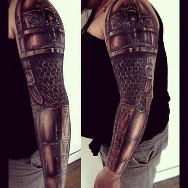 Tatuagens criativas nos braços 07