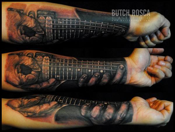 Tatuagens criativas nos braços 10
