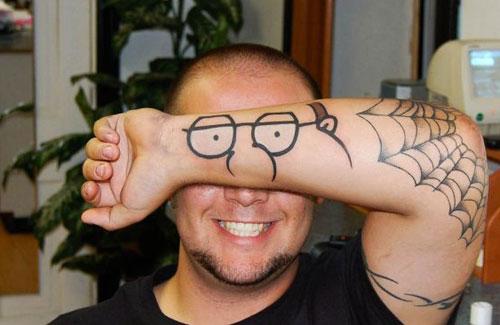 Tatuagens criativas nos braços 12