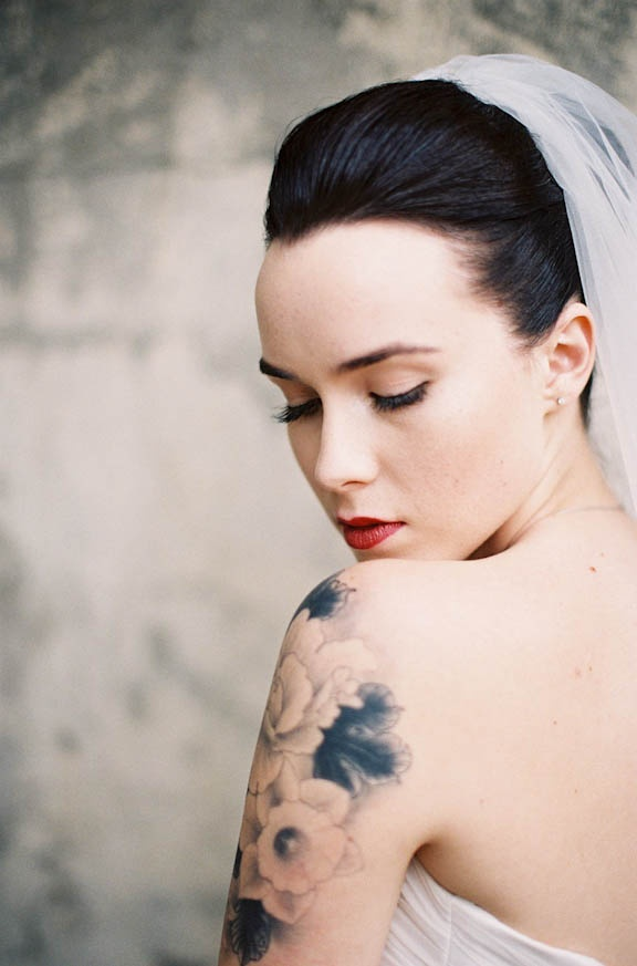 Fotos de Noivas Tatuadas 01