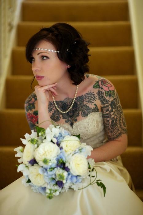 Fotos de Noivas Tatuadas 10
