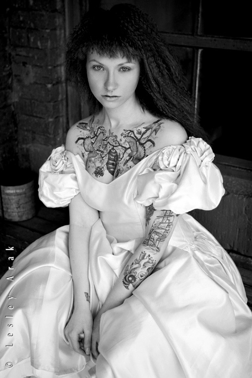 Fotos de Noivas Tatuadas 20