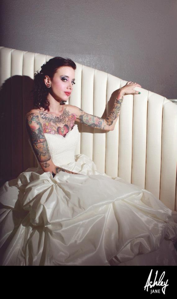 Fotos de Noivas Tatuadas 21