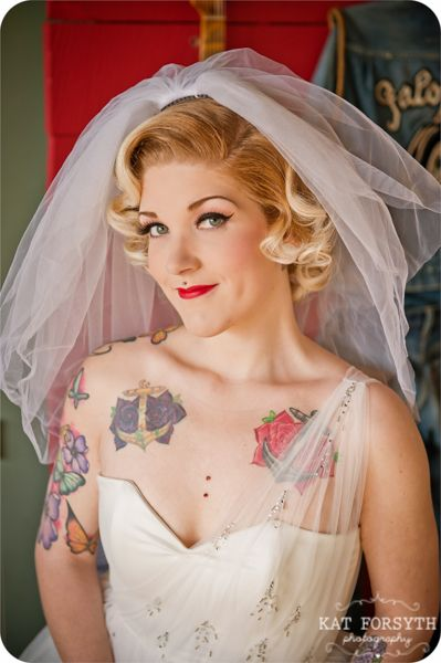Fotos de Noivas Tatuadas 23