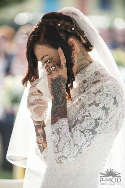 Fotos de Noivas Tatuadas 25