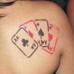 5 tatuagens de Poker