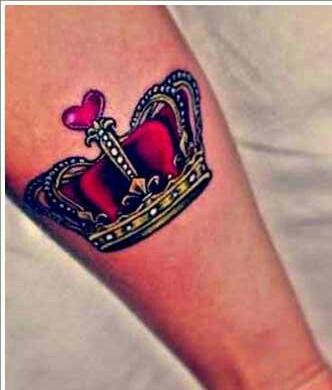 Tatuagem de coroa 05