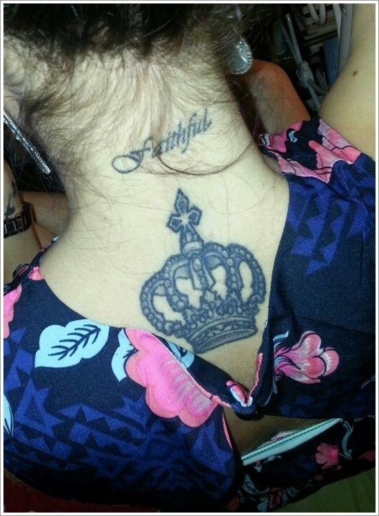 Tatuagem de coroa 15