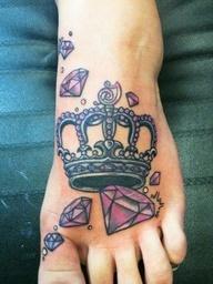 Tatuagem de coroa 20
