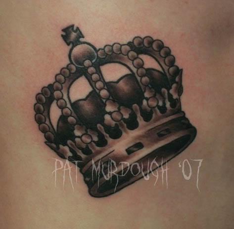 Tatuagem de coroa 36