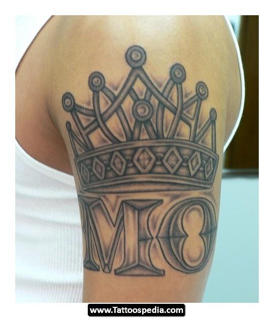 Tatuagem de coroa 56