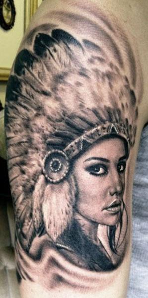 Tatuagens de Indio - Tatuagens de India 01
