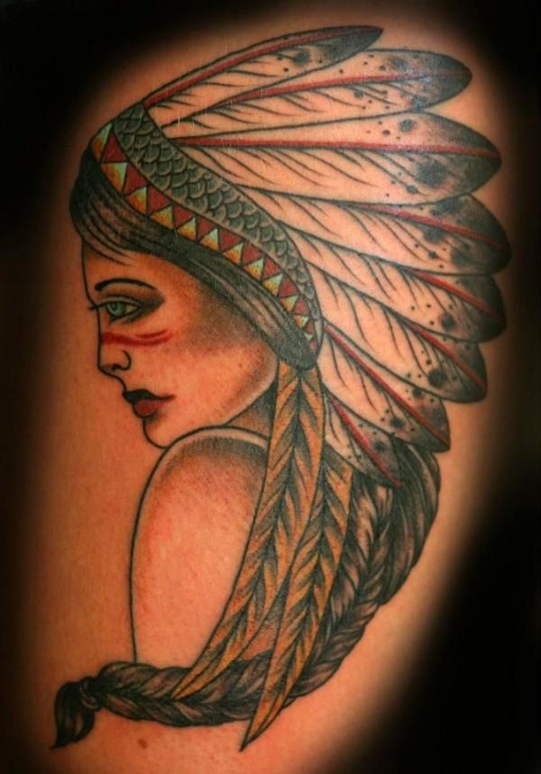 Tatuagens de Indio - Tatuagens de India 06