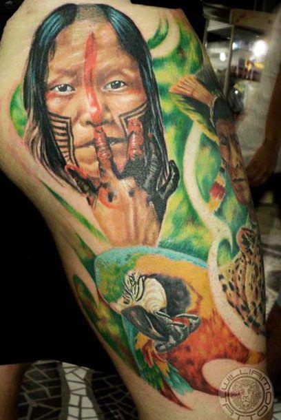 Tatuagens de Indio - Tatuagens de India 07