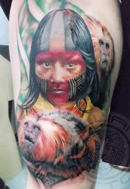 Tatuagens de Indio - Tatuagens de India 08