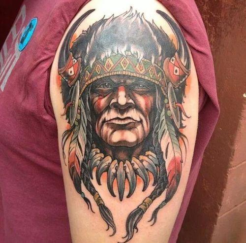 Tatuagens de Indio - Tatuagens de India 10