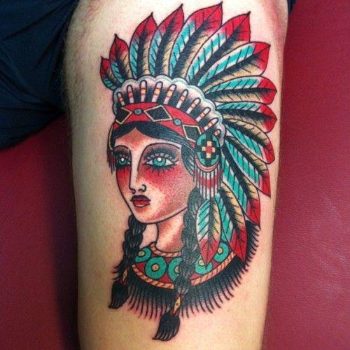 Tatuagens de Indio - Tatuagens de India 11