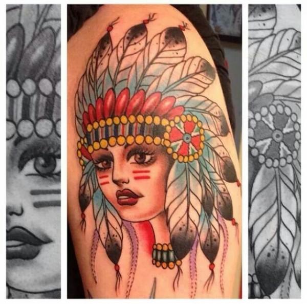Tatuagens de Indio - Tatuagens de India 12