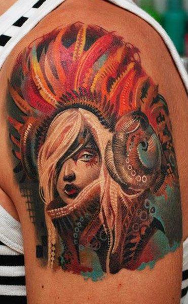 Tatuagens de Indio - Tatuagens de India 18