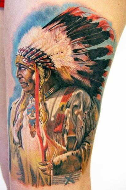 Tatuagens de Indio - Tatuagens de India 23