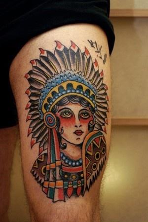 Tatuagens de Indio - Tatuagens de India 35
