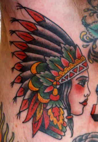 Tatuagens de Indio - Tatuagens de India 36
