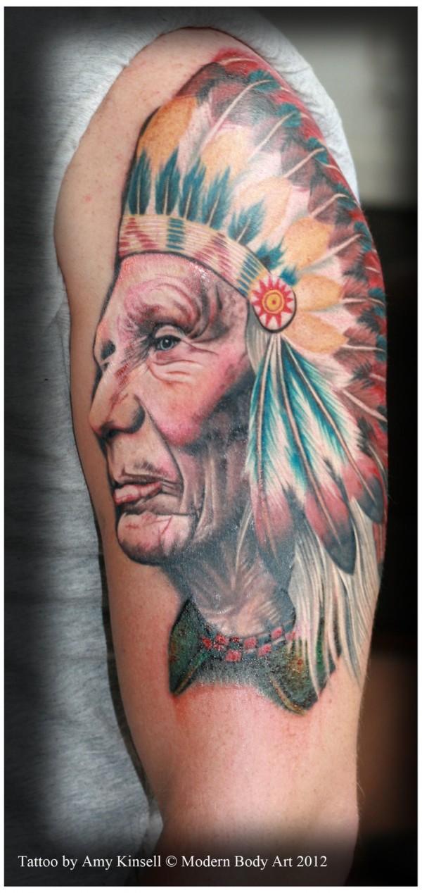 Tatuagens de Indio - Tatuagens de India 43