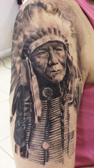 Tatuagens de Indio - Tatuagens de India 46