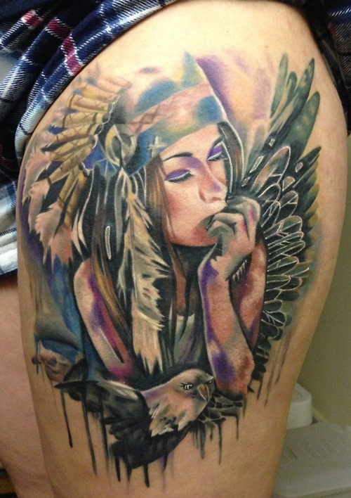 Tatuagens de Indio - Tatuagens de India 48