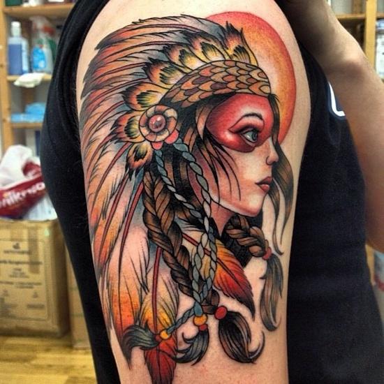 Tatuagens de Indio - Tatuagens de India 49