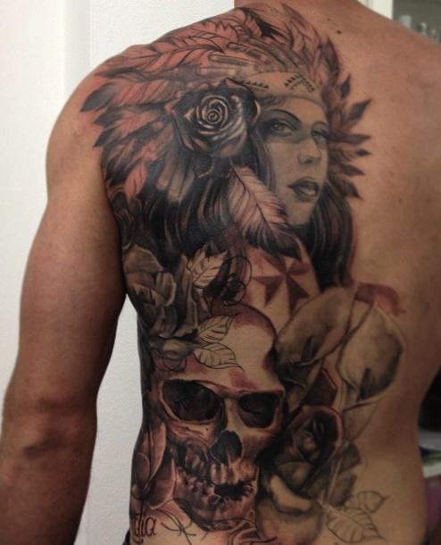 Tatuagens de Indio - Tatuagens de India 50