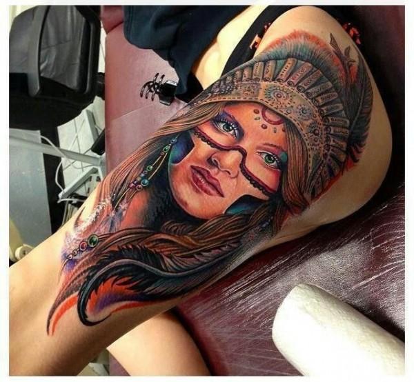 Tatuagens de Indio - Tatuagens de India 51