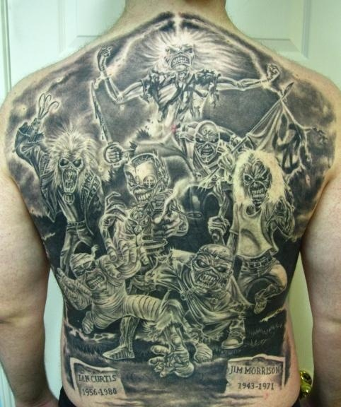 Tatuagens do Eddie do Iron Maiden 10