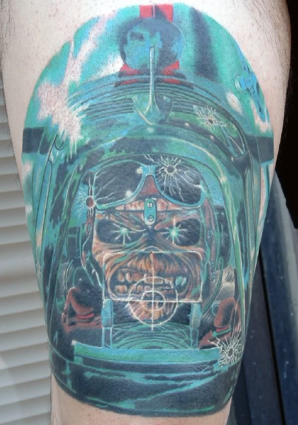 Tatuagens do Eddie do Iron Maiden 13
