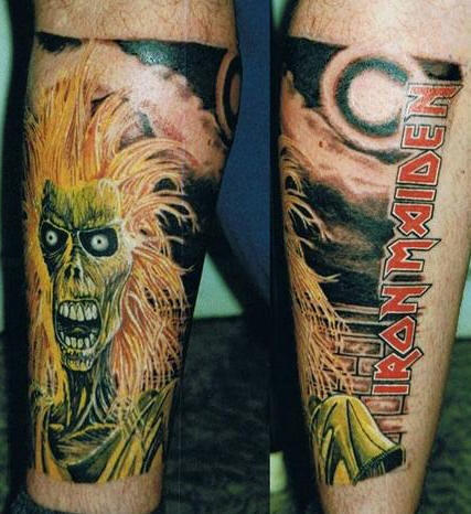 Tatuagens do Eddie do Iron Maiden 14